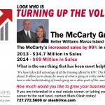 The McCarty Group – Turning Up The Volume