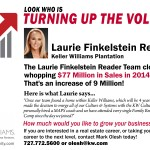Laurie Finkelstein Reader – Turning Up The Volume!
