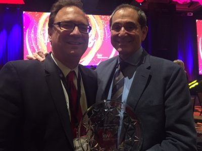 Alan Waxman Inducted Into The Keller Williams Team Leader Hall of Fame